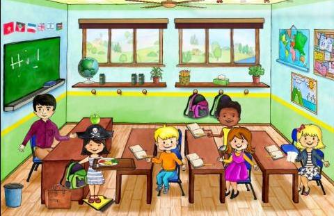 غرفة الصف في My PlayHome School