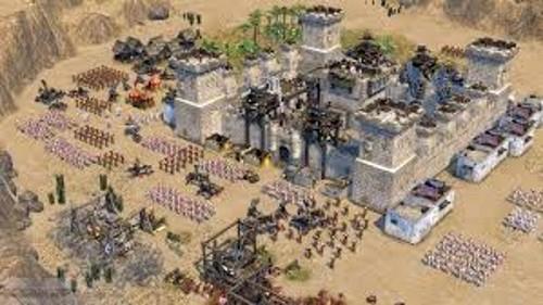 الحصار في لعبة صلاح الدين