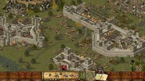 ساحة المعركة في لعبة Crusader Stronghold