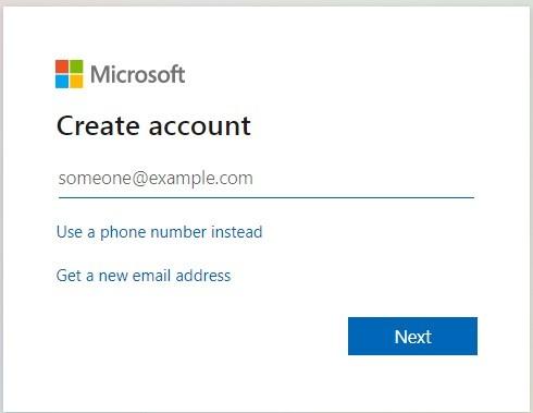 اختيار عنوان البريد الالكتروني في انشاء حساب هوتميل