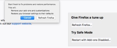 تحديث فايرفوكس