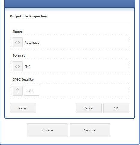 اجراء بعض التعديلات في برنامج تصوير الشاشة