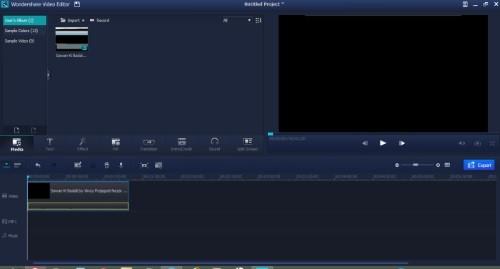 وضع كامل المزايا للكتابة على الفيديو