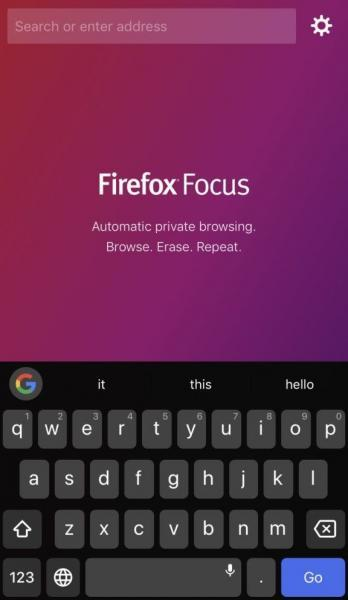 متصفح فايرفوكس للايفون