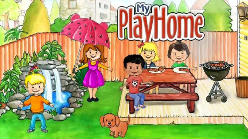 واجهة My PlayHome Doll House