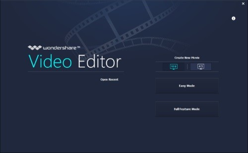 واحهة Wondershare Video Editor