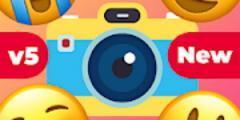 أيقونة تطبيق صانع صور ايموجي